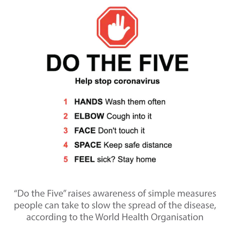 Do the Five - COVID-19
