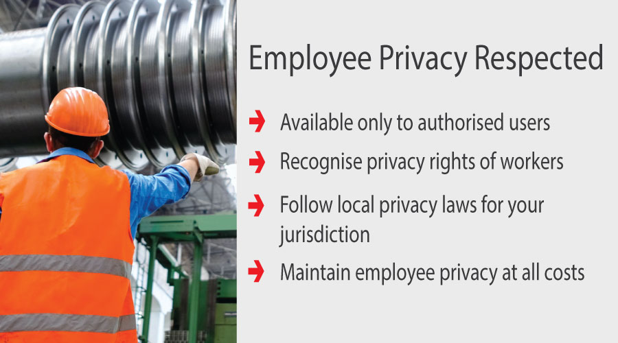 Aegis Sales & Service - Lone Worker Employee Privacy by Blackline Safety