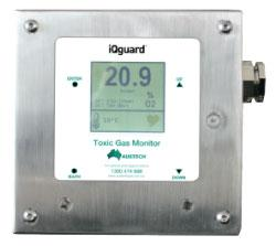 iQGuard sensor stainless steel housing from Austech by AmpControl at Aegis Sales & Service