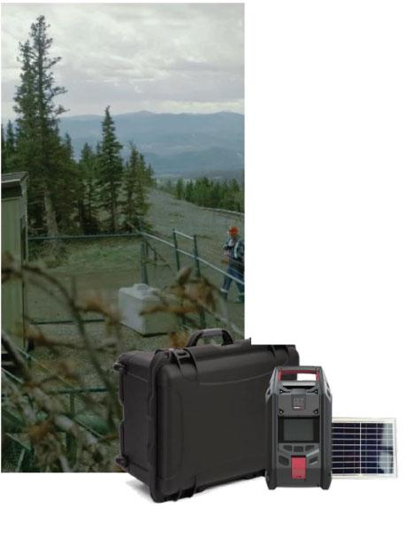 Remote Area Kit for the Blackline Safety G7 EXO area monitor