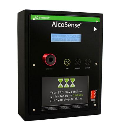 Wall Mounted Commercial  Breathalyser Calibration - Australia - AlcoSense by Andatech