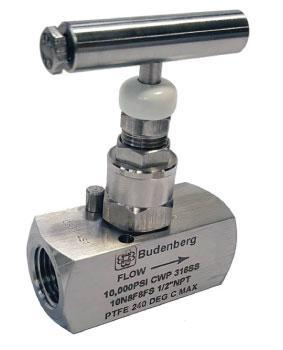 10N8F8FS Needle Valve by Budenberg in Australia
