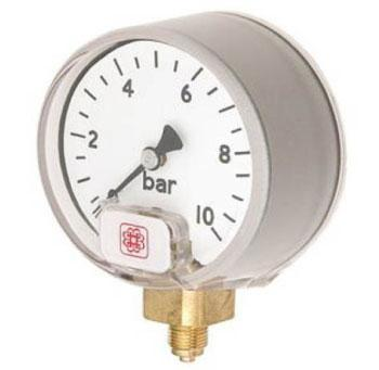 15L Small Dial High Pressure Safety Service Gauge Budenberg Australia