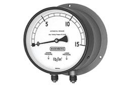 Budenberg 179 Bourdon Tube Differential Pressure Gauge