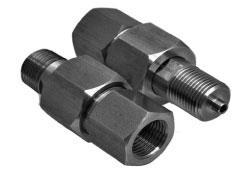 Budenberg 6GA Swivel Adaptors for Pressure Gauges