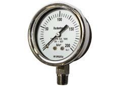 Budenberg 726 General Industrial Pressure Gauge