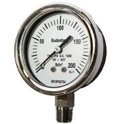 726 63mm Pressure Gauge by Bundenberg in Australia
