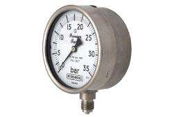 Budenberg 966GP Bourdon Tube Safety Pattern Budenberg Pressure Gauge