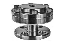 Budenberg Diaphragm Seal Gauge with Clamped Construction & Flanged Connection