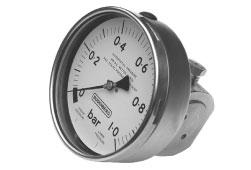 Budenberg M24 Bellows Type Differential Pressure Gauge