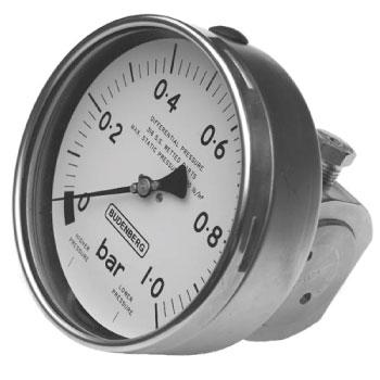 M24 Bellows Type Differential Gauge from Budenberg Australia