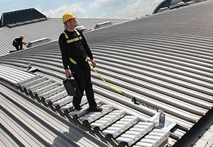 Latchways MSA Walksafe roof safey walkway Latchways