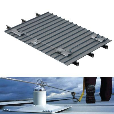Roof Safety Inspection Static Lines Ladder Safety System