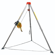 Confined Spaces Tripod & Winch - Hire - Aegis Sales & Service