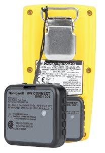 Honeywell BW Connect for wireless Gas Detection