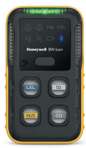 Honeywell BW Icon Gas Detector