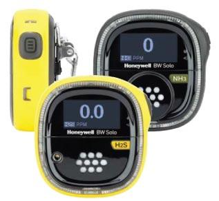 Honeywell BW Solo Wireless Single Gas Detector