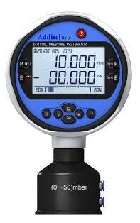 Additel ADT 672 Digital Pressure Calibrator