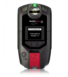 G7c Lone worker device and gas detector in one