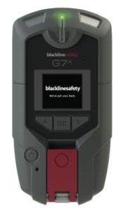 G7x Wireless Multi Sensor Gas Detector and Lone Worker Monitor from Blackline Safety